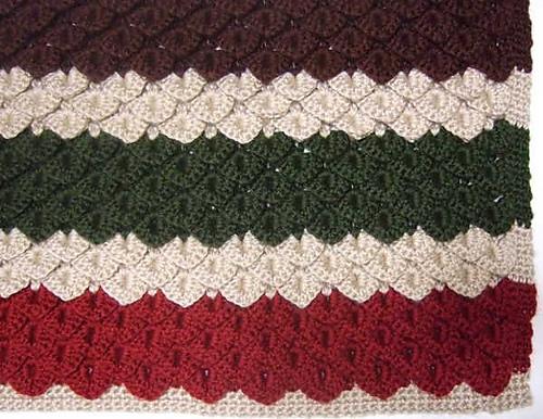 Crochet Patterns Crocodile Stitch : Crochet Patterns Galore - Crocodile Stitch Blanket