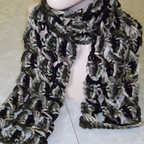Crochet Patterns Galore Broomstick Lace Chunky Scarf