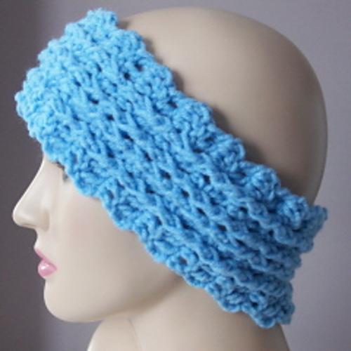 Crochet Patterns Galore Ribbed Ear Warmer