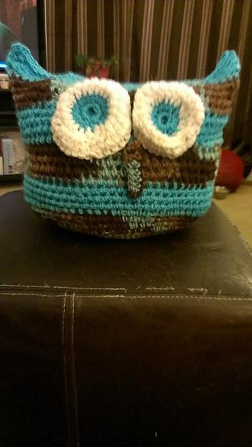 Crochet Patterns Galore Kelly S Owl Pillow