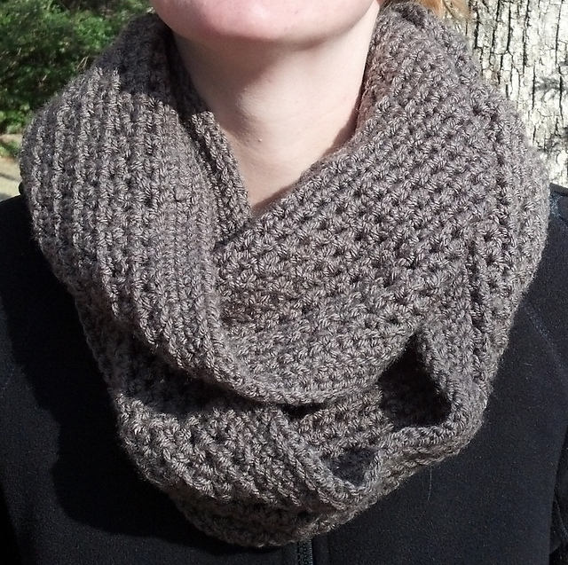 Crochet Patterns Galore Honeycomb Infinity Scarf