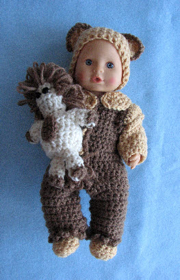 Crochet Patterns Galore Pajamas For 12 Inch Baby Doll