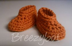 Breezybot Newborn Booties