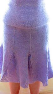 Ladies Lilac Skirt