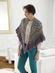 Falling Water Shawl