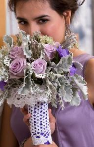 Bridal Bouquet Cozy