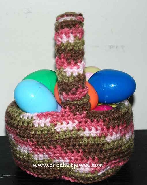 Free Crochet Patterns For Easter Gifts : Crochet Patterns Galore - Easter Basket