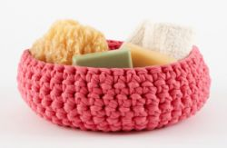 Large Crocheted Bowl