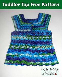 Iris Toddler Top