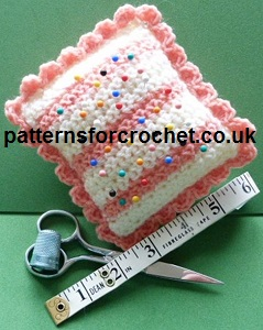 Peaches & Cream Pin Cushion