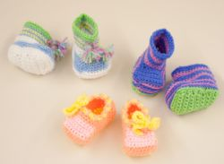 Candy Color Booties