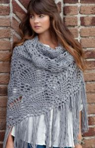 Crochet Patterns Galore Sidewalk Shawl