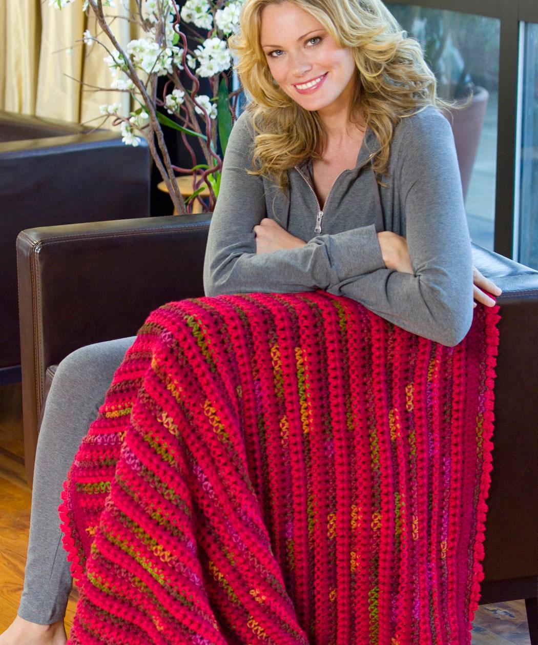 Crochet Patterns Galore Love Amp Kisses Throw