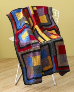 Patchwork Squares Throw