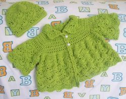 The Shy Butterfly, Baby Sweater