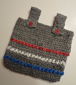 Puff Stitch Wheelchair Tote