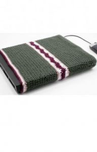 Crochet Laptop Cover
