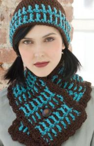 Lake House Hat & Scarf