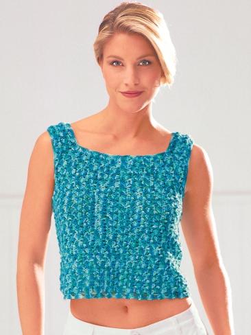 Free Crochet Pattern For Baby Tank Top : Crochet Patterns Galore - Easy Tank Top