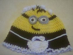 Frenchie Minion Hat