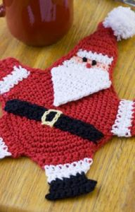 Mr. Claus Potholder