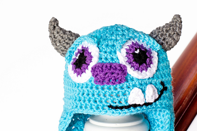 Crochet Patterns Galore Monsters Inc Sulley Inspired