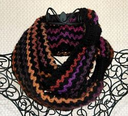 Two-Yarn Infinity Scarf or Cowl