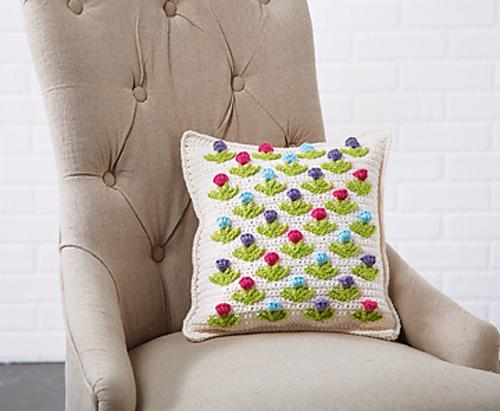 Crochet Patterns Galore Tulip Pillow