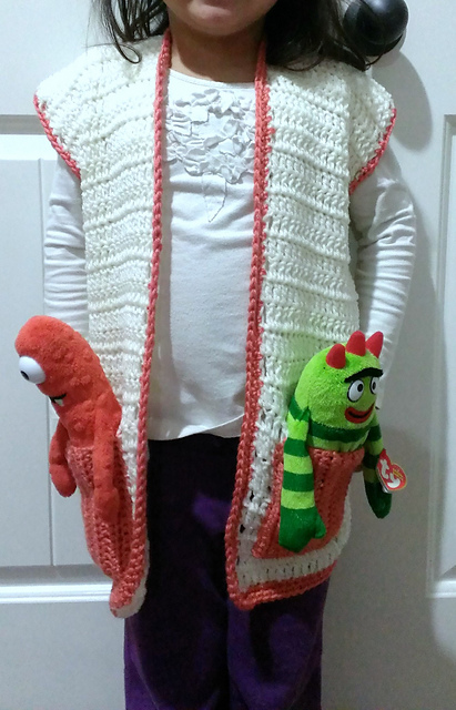 Crochet Patterns Galore Easy Child S Vest