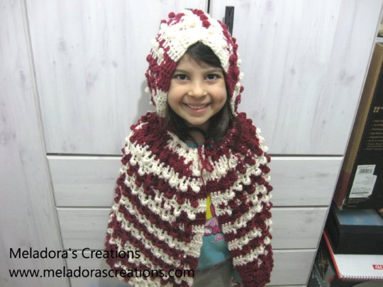 Crochet Patterns Galore - Red Riding Hood: Cape and Hood