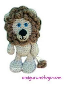 Amigurumi Little Bigfoot Turtle : Crochet Patterns Galore - Little Bigfoot Lion