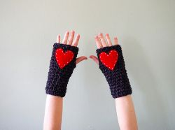 Super Quick and Chunky Fingerless Gloves