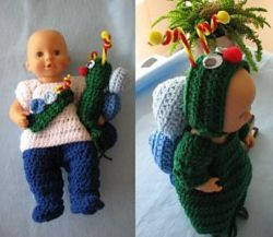 Crochet Patterns Galore 12 Inch Baby Doll Outfit