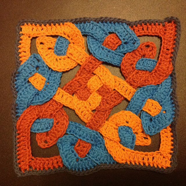 Crochet Patterns Galore Celtic Knot Motif