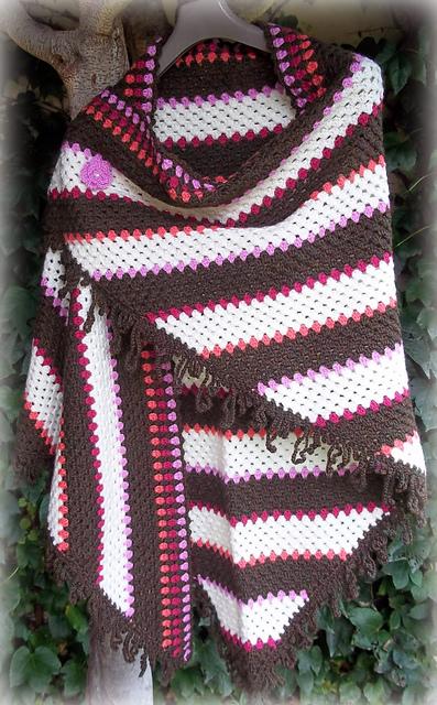 Crochet Patterns Galore Corner To Corner Granny Shawl