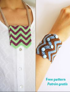 Zigzag Two Ways Bracelet and Necklace
