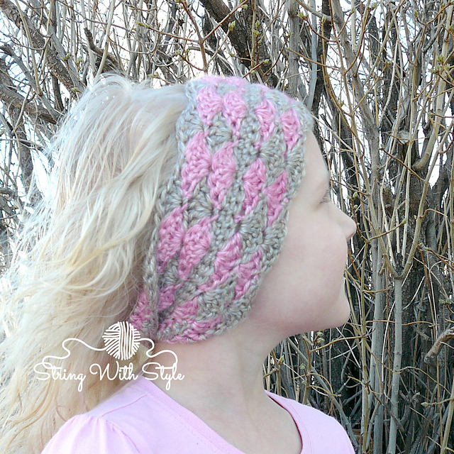 Crochet Patterns Galore Ear Warmer Headband With A Twist
