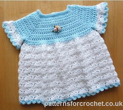 Crochet Patterns Galore - Cute Baby Dress