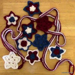 Stars & Stripes Bunting (or Coasters)