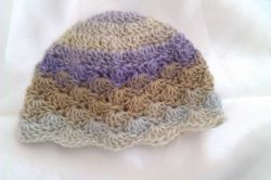 Any Size Shell Stitch Hat
