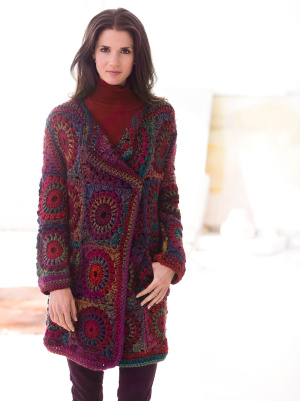 Crochet Patterns Galore Granny Square Coat