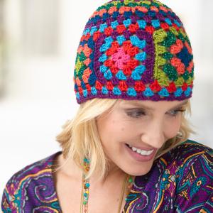 Crochet Patterns Galore - Sparkly Granny Cap ea2e25d8aec