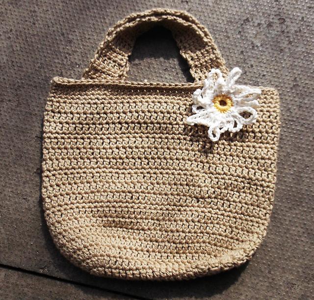 Crochet Patterns Galore Summer Daisy Beach Bag