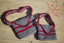 Mommy & Me Woven Purses