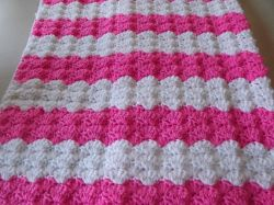 Pretty Shells Baby Blanket