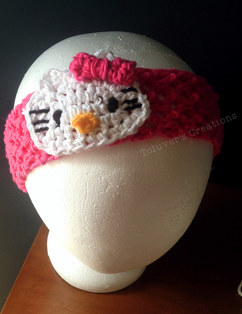 Crochet Patterns Galore Hello Kitty Headband