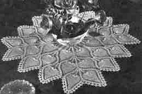 Crochet Patterns Galore Square Pineapple Centerpiece Or Tablecloth