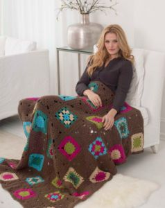 Young At Heart Granny Afghan
