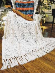 Irish Lace Throw