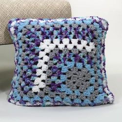 Mostly Mitered Pillow